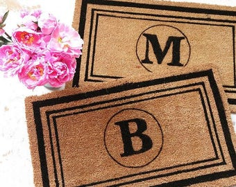 Custom Doormat w. Initial