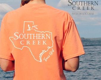 Southern Creek, Texas Girl SS Tee