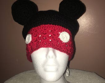 Mickey Mouse Ears Beanie