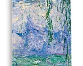 Claude Monet case for Samsung Galaxy J1 J2 J3 J5 J7  A3 A5 A7 2016 2017 Hard Cover