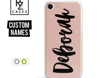 Custom Phone Case, Personalized Case, iPhone 7 Case, iphone case, iphone 6 case, Personalized Gift for Her, Custom Name Case, iPhone 6s case