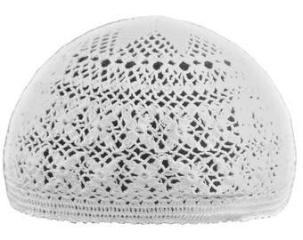 Crisscross Crochet Cap