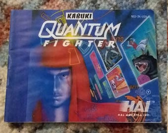Quantum Fighter NES instruction manual