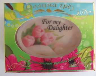 With name, a gift for the daughter, a gift for my daughter,a gift for the girl,soap with a photo,daughter,a gift to a girlfriend,soap