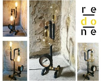 Steampunk Lamp - Industrial Lamp
