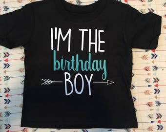Toddler birthday shirt