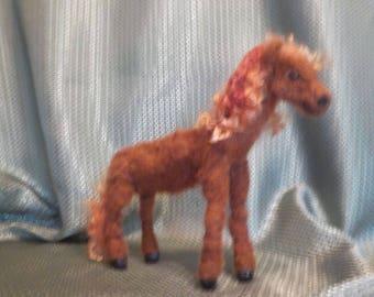 Needle Felted Little pony
