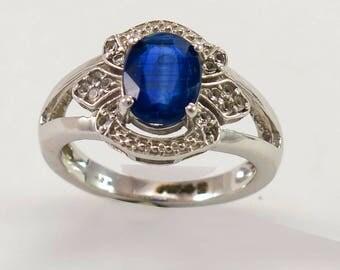 Kyanite \blue  Ring