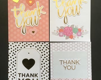 Thank cards, 4