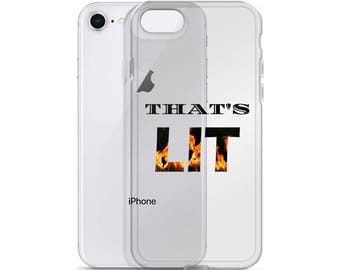 That's Lit iPhone Case