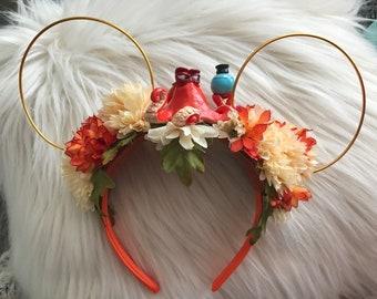 Hank Finding Dory theme Flower Crown ears