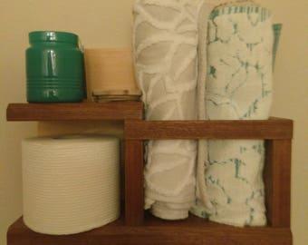 Bathroom Shelf, Wall Organizer