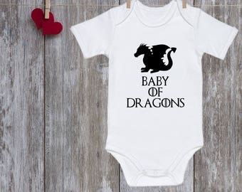 Game of thrones baby onesie Game of Thrones Baby Funny baby clothes Game of thrones onesie Baby of Dragons BABY MUST HAVE Baby gift