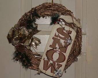Gold Wreath/ Doorhanger