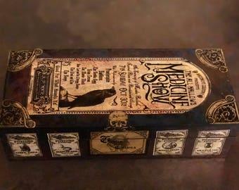 Medicine Show keepsake box