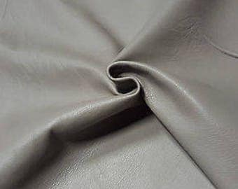 Leather Cow Hide Thunder Gray Automotive Upholstery Craft Cowhides TS11890