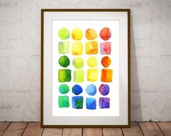 Art Print, Wall Art, Abstract Print, Abstract Watercolour, Watercolour Print, Abstract Art, Abstract Art Print, Watercolour Wall Art