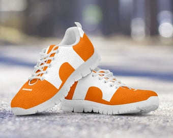 Tennessee Volunteers Football Fan Custom Running Shoes/Sneakers/Trainers - Ladies + Mens Sizes