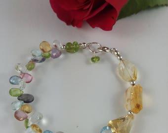 Gemstone Delight bracelet