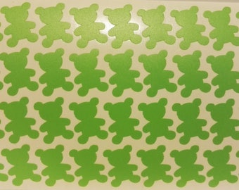 Green bears stickers