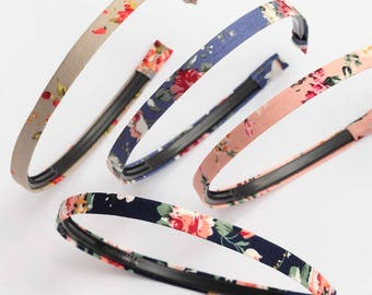 Vintage inspired cotton headbands/Alice Bands