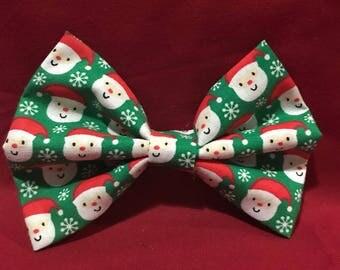 Santa Hair Bow