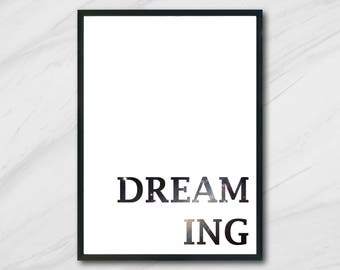 "DREAMING"" Digital Print  Unlimited Prints"