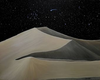 Stillness, acrylic painting by Zoe Adams