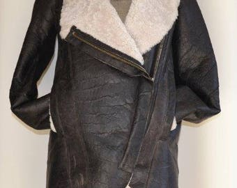 HELMUT LANG Sherling Coat NWT
