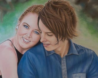 Portrait paintings made to order