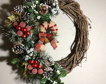 Custom Half Wreaths