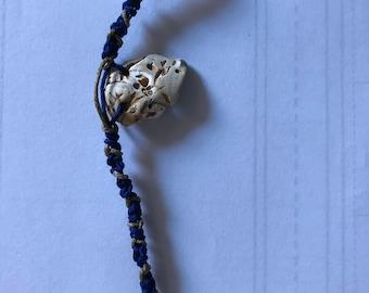 """Blue and """"gold"""" Bracelet"""