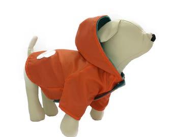 Reflective bone waterproof jacket