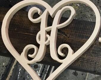 Personalized valentine door hanger