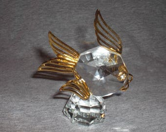 Fish - miniature collectible crystal figurine