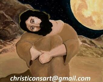 """PRINT """"Christ in the Desert"""""""