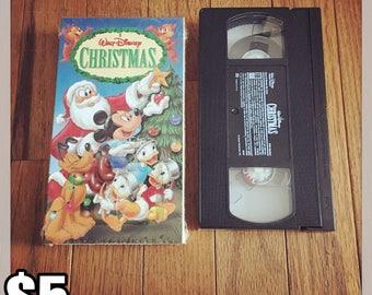 A Walt Disney Christmas (VHS) [Out Of Print]