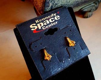 Super Cool Kennedy Space Center Rocket Earrings