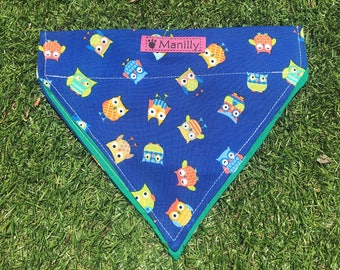 Owl Bandana - Dog Collar Bandana Accessory