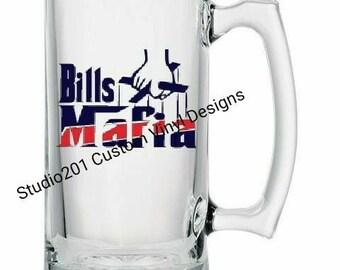 Bills Mafia Beer Mug