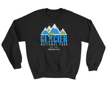 Glacier National Park Montana Sweatshirt