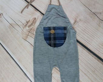 Sitter Romper Photography, Sitter Photo Prop, 9 Month Photo Outfit Boy, Romper, Sitter Size Overall, Photo Props