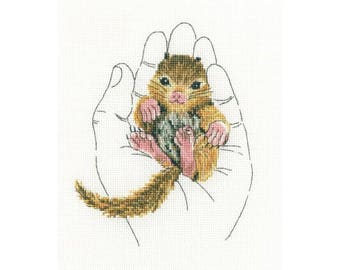 "RTO counted cross-stitch kit ""Warmth in palms"", M696"