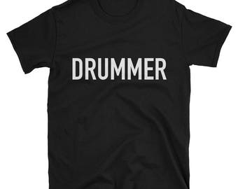 Drummer t shirt, music t shirt, band t shirt