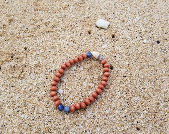 Cone shell bracelet