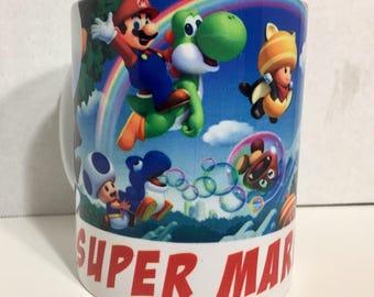 Super mario bros 11 oz mug