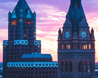 8x10 Milwaukee Center Office & City Hall