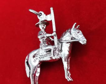 Canadian Mounted Police Charm