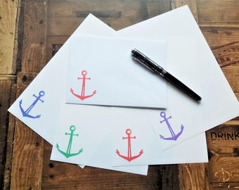 Anchor Letter/Writing/Stationary Set
