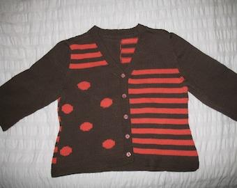 Handmade 3/4 sleeve Cardigan